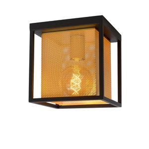 Lucide SANSA - Ceiling light - E27 - Black - 21122/01/30