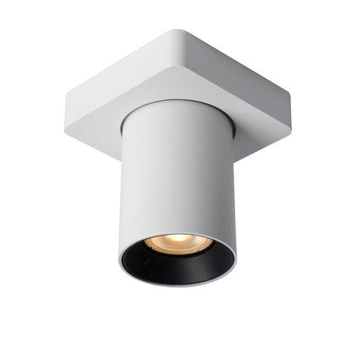 Lucide NIGEL - Ceiling spotlight - LED Dim to warm - GU10 - 1x5W 2200K / 3000K - White
