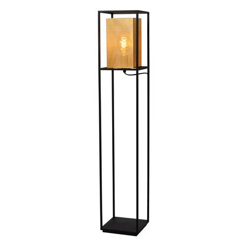 Lucide SANSA - Vloerlamp - E27 - Zwart - 21722/01/30