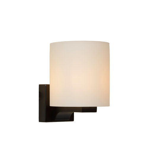 Lucide JENNO - Wall lamp Bathroom - G9 - IP44 - Black - 04204/01/30