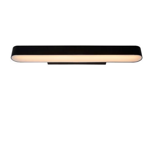 Lucide MADELON - Wall lamp Bathroom - LED Dim. - 1x9W 2700K - IP44 - Black