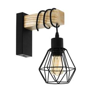 EGLO Vintage Wandlamp TOWNSHEND 5