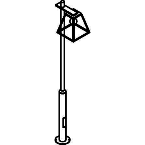 PSM Lighting Lanterne polo 308cm noir W766.32X