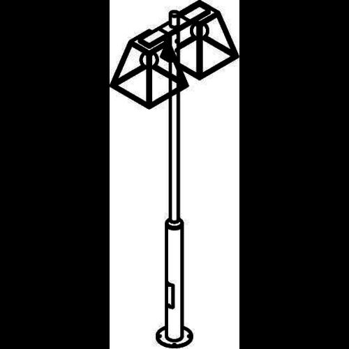 PSM Lighting Polo lantern 308cm black W767.32X
