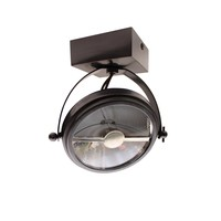Surface-mounted spotlight CENTONZE ON SQUARE BASE