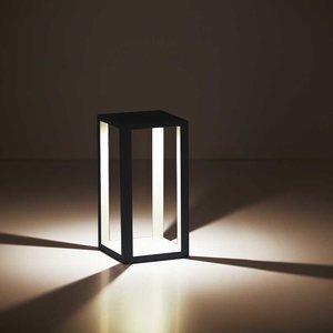 LioLights Lampe sur pied à LED d'extérieur BL KENTON ZW