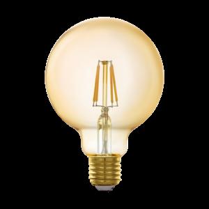 EGLO Connect E27 LED bulb G95 GOLD 11866