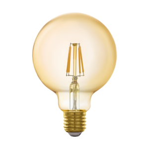 EGLO Connect E27 LED lamp G95 GOLD 11866