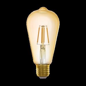 EGLO Connect E27 LED bulb ST64 GOLD 11865