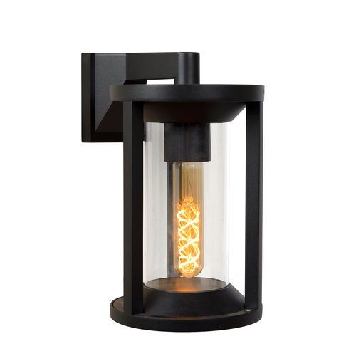 Lucide CADIX - Wall lamp Outdoor - E27 - IP65 - Black - 15803/01/30