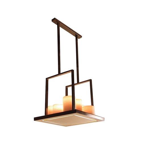 Authentage Landelijke Led hanglamp Bellefeu Suspension Carré