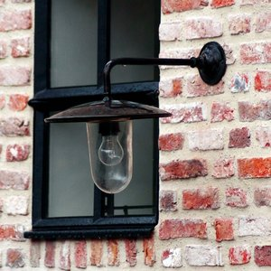 Authentage Rural Wall Lamp Elébase Wall Large 90 ° Outdoor