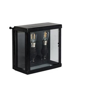 Authentage Rural Wall Lamp VITRINE PETITE WALL 2L outdoor