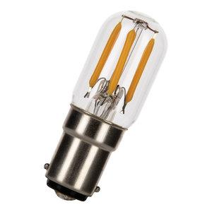Authentage Ba15d LED lamp 2-25W warm wit