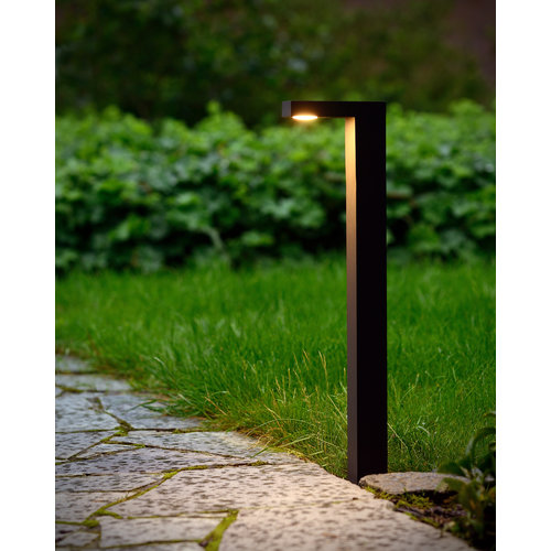 Lucide TEXAS - Pedestal lamp Outdoor - LED - 1x6W 3000K - IP54 - Anthracite - 28851/60/30