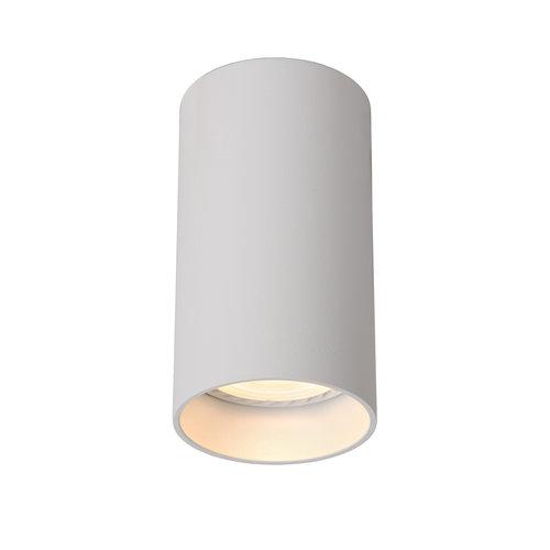 Lucide DELTO - Ceiling spotlight - Ø 5.5 cm - LED Dim to warm - GU10 - 1x5W 2200K / 3000K - White