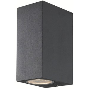 Absinthe Cube Wall up / down Anthracite IP54