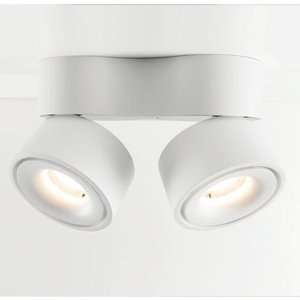 Absinthe LED Design double ceiling spot Nimis 3000 ° K