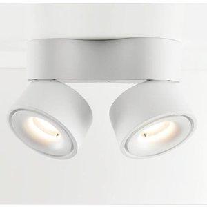 Absinthe LED Design dubbele plafondspot Nimis 3000°K