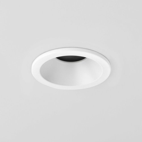 Astro Recessed spot Minima IP65 Round Fixed Mat white