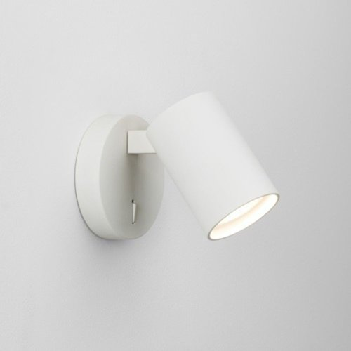 Astro Ascoli Single Switched wall or ceiling lamp GU10