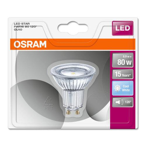 OSRAM Parathom ADV 7.2-80W LED spot GU10 Dimmable - Copy
