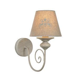 Lucide ROBIN - Wall lamp - E14 - Taupe - 34239/01/41