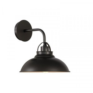 Lucide HAMOIS - Wall lamp - Ø 26 cm - E27 - Gray iron