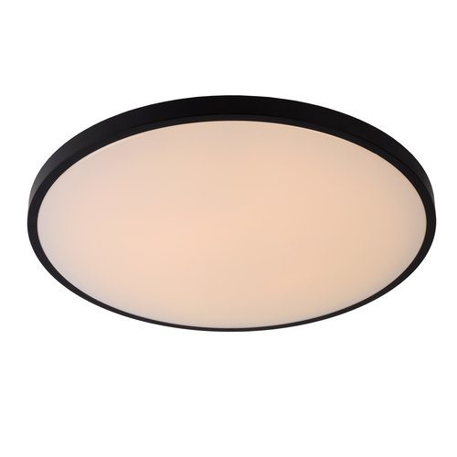 Lucide POLARIS - Plafonnière - Ø 55,7 cm - LED Dim to warm - 1x50W 2700K/4000K - Zwart