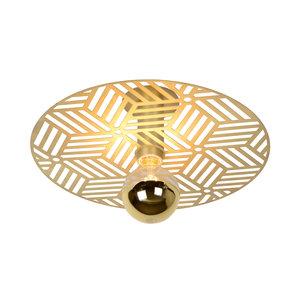 Lucide OLENNA - Ceiling lamp - Ø 40 cm - 1xE27 - Matt Gold / Brass - 05131/01/02