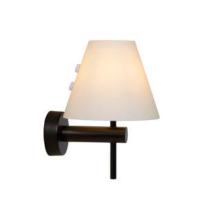 Lucide ROXY - Wall light Bathroom - 1xG9 - IP44 - Black - 04208/01/30
