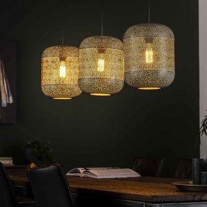 LioLights Hanglamp 3L etch