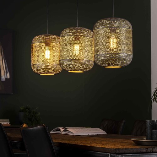 LioLights Hanging lamp 11L bamboo wrap - Copy