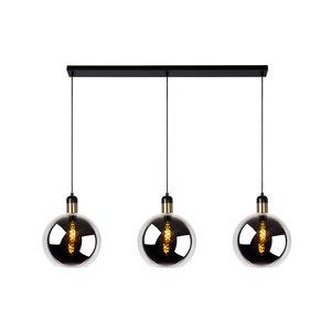 Lucide JULIUS - Lampe à suspension - 3xE27 - Fumé - 34438/03/65