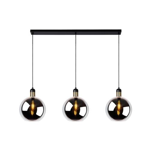 Lucide JULIUS - Hanging lamp - 3xE27 - Fumé - 34438/03/65