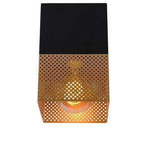 Lucide RENATE - Flush ceiling light - 1xE27 - Black - 21123/01/02