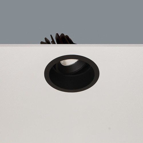 LioLights LED Recessed spot RIBS IP44 10W warm white