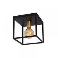 RUBEN - Ceiling light - 1xE27 - Black - 00124/01/30