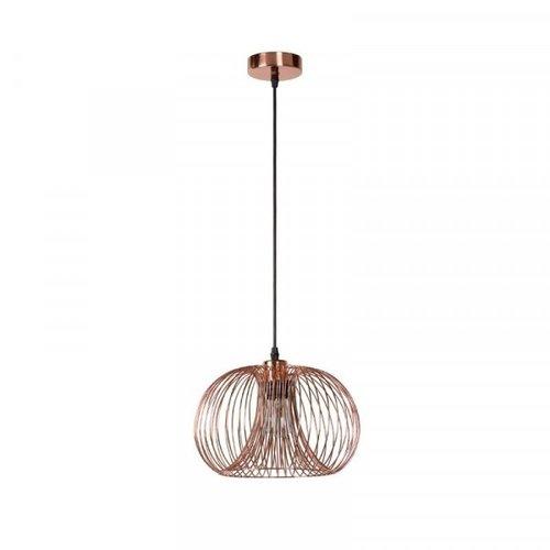 Lucide VINTI - Hanglamp - Ø 30 cm - 1xE27 - Koper - 02400/30/17
