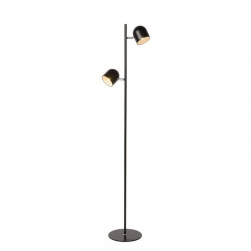 Lucide SKANSKA - Floor lamp - LED Dim. - 2x5W 2700K - Black - 03703/10/30