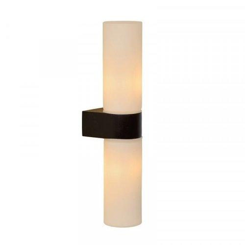 Lucide JESSE - Wall lamp Bathroom - 2xG9 - IP44 - Black - 04202/02/30