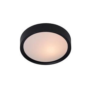 Lucide LEX - Ceiling lamp - Ø 25 cm - 1xE27 - Black - 08109/01/30