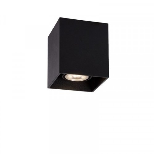 Lucide BODI - Ceiling spotlight - 8 cm - 1xGU10 - Black - 09101/01/30