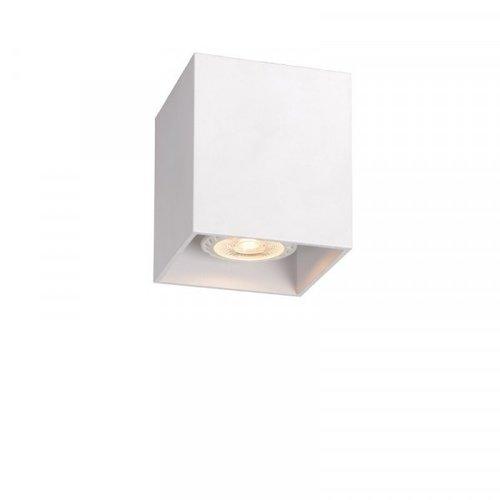 Lucide BODI - Plafondspot - 8 cm - 1xGU10 - Wit - 09101/01/31