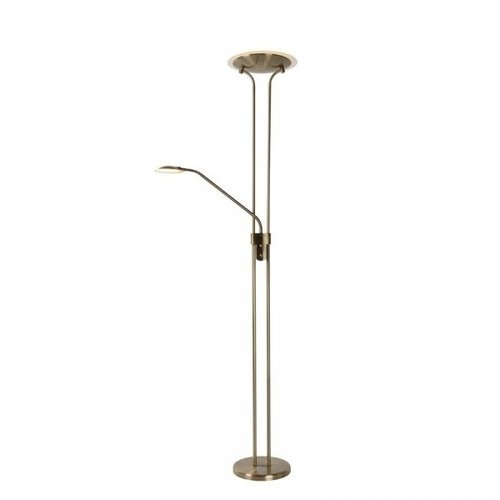 Lucide CHAMPION-LED - Reading lamp - Ø 25.4 cm - LED Dim. - 3000K - Bronze - 19792/24/03