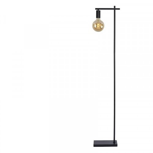 Lucide LEANNE - Floor lamp - 1xE27 - Black - 21721/01/30
