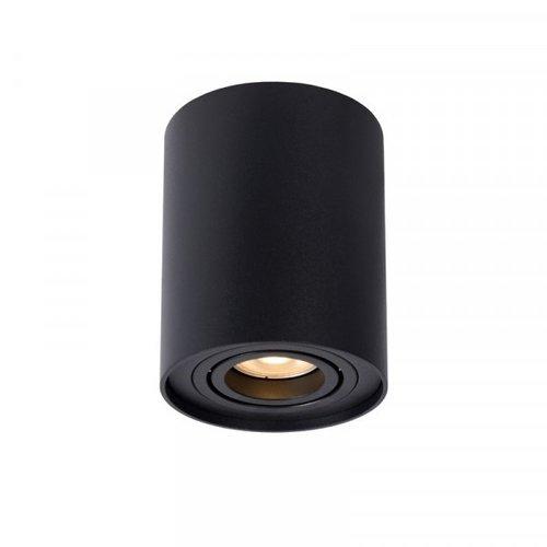 Lucide TUBE - Plafondspot - Ø 9,6 cm - 1xGU10 - Zwart - 22952/11/30