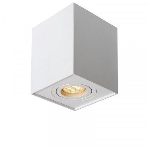 Lucide TUBE - Ceiling spotlight - 1xGU10 - White - 22953/01/31