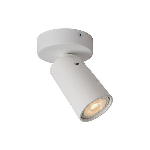 Lucide XYRUS - Ceiling spotlight - Ø 9 cm - LED Dim to warm - GU10 - 1x5W 2200K / 3000K - White - 23954/06/31