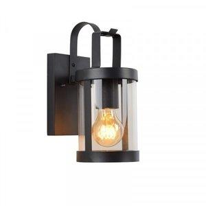 Lucide LINDELO - Wall lamp Outdoor - 1xE27 - IP23 - Black - 29825/01/30